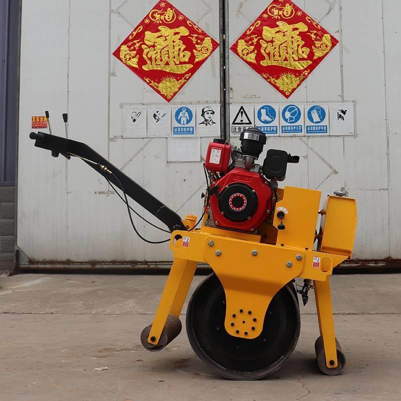山东小型压路机厂家 单轮混凝土压实机 单钢轮振动碾