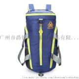 定制折疊運動包便攜防潑水多功能健身雙肩包廣州背包廠