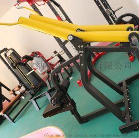 坐式下拉训练器商用多功能健身器材力量运动训练器械