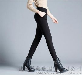 折扣女装走份从哪里进货莫西摩冬装新款保暖裤