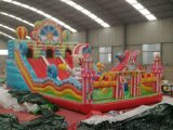 新疆大型新款充氣滑梯現貨廠家直銷