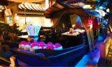 重慶溶洞中式水上餐飲船木船酒店餐廳桂滿隴船宴廠家