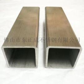 亚光304不锈钢方管,亚光拉丝面不锈钢方管