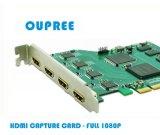 歐柏銳品牌OPR-HD400流媒體/IPTV採集卡-4路同時採集攝像機