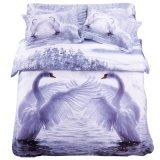 100%全棉四件套纯棉床上用品家纺被套床单