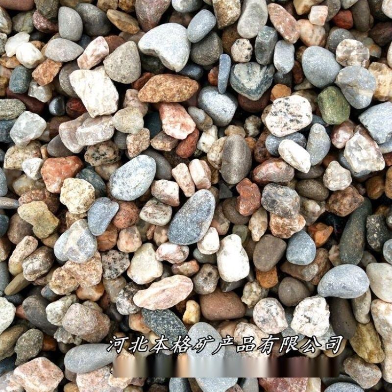 本格供应印染厂水过滤用鹅卵石滤料 环保鹅卵石 砾石