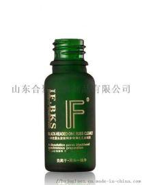 绿色玻璃瓶,绿色精油瓶烫金