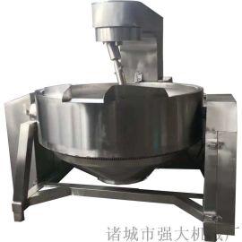 强大机械**中药膏融化专用电加热行星搅拌锅
