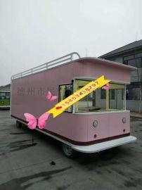 餐车 小吃车 欧式街景 电动的餐车 房车