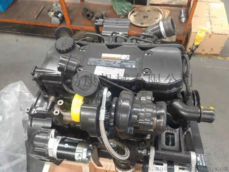 叉装机国三排放发动机总成 康明斯QSB3.9