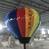 玻璃钢热气球雕塑、玻璃钢气球雕塑景观装饰