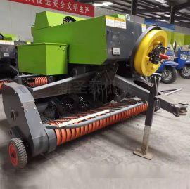 方捆稻草捡拾打捆机 自动捡拾方捆打捆机生产厂家