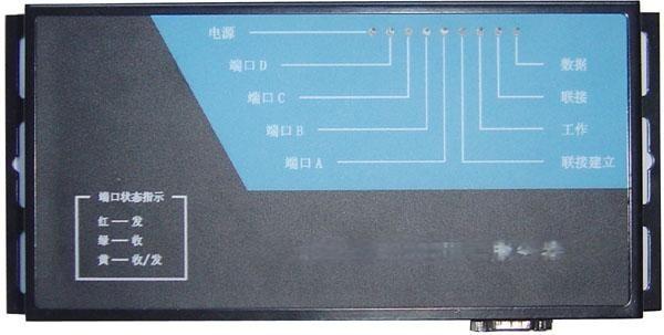 工業級四口串口伺服器