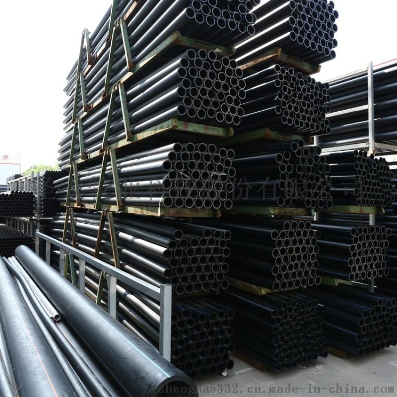圣大管业厂家HDPE给水管连接方式分承插式和对接式