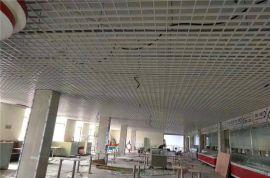 长沙商业街吊顶铝格栅 女人街吊顶铝格栅 白色铝格栅
