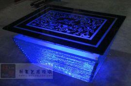 KTV玻璃发光茶几(LH-Z0061)