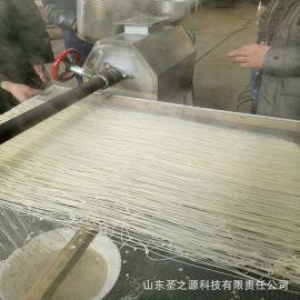绿豆粉皮机 自熟式粉条机 电加热粉丝机 蚕豆粉丝设备