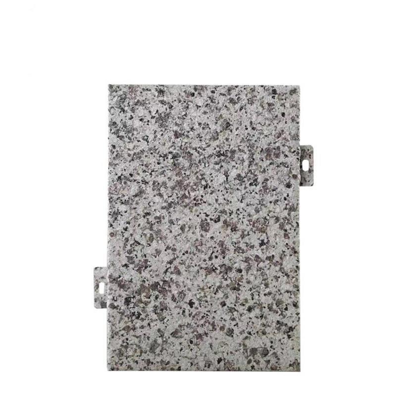 廠家定製粉末真石漆石紋鋁單板規格包安裝