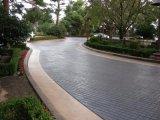 重庆地区彩色压花地坪冬季施工注意要点 丰都艺术压模地坪材料