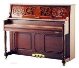 復古風雕花立式鋼琴