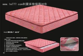莉蒙A818竹炭面拆乳胶弹簧床垫A818