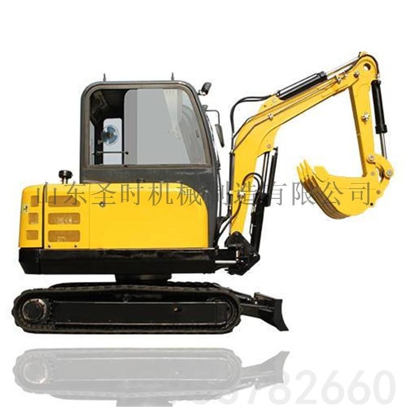 建筑小型挖掘机报价 工程破拆挖挖机 柴油微型挖掘机