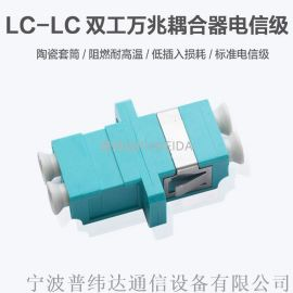 LC光纤适配器图文说明