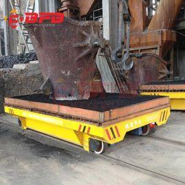 耐高温多轮平板轨道车 50吨电动搬运车