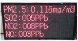 海南大螢幕實時在線粉塵檢測儀東莞小區環境監控儀馬路揚塵監測