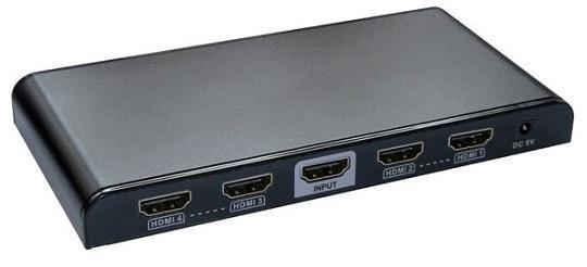 4K*2K 高清HDMI分配器一进四出