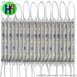 LED广告模组3灯5730防水模组