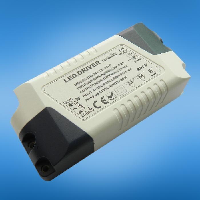 可控矽調光電源 ,無頻閃 高品質9w恆流調光電源