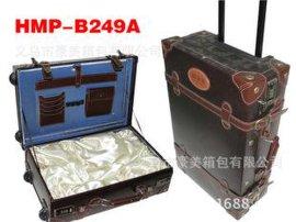 厂家供应纯皮旅行箱包批发拉杆箱行李箱支持定做万向轮登机箱