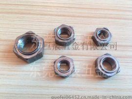 六角焊接螺母M6焊接六方螺母M6