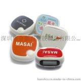 供应MASAI品牌苹果形状单功能计步器