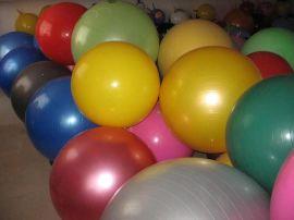 重庆PVC瑜伽健身球,体育运动健身球,羊角球销售