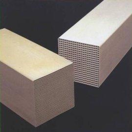 有机废气催化燃烧助剂HRT-IV蜂窝陶瓷催化剂厂家直销孔状催化块