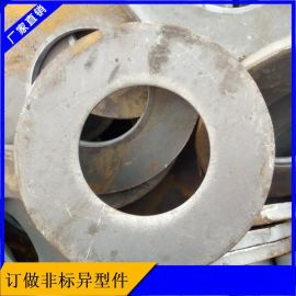 厂家法兰毛坯直供机械加工厚壁法兰毛坯40个厚