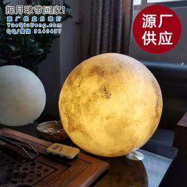 中山古镇厂家供应100cm月球灯月亮灯