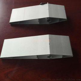 4s店装修  外墙铝格栅 大小头铝百叶