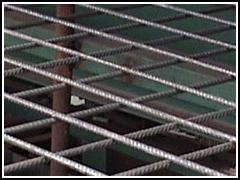 桥梁建筑钢筋网