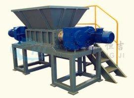 双轴撕碎机可以应用于废塑料和体积较大的废弃物料