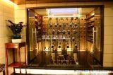 红酒专柜不锈钢酒架专业设计加工