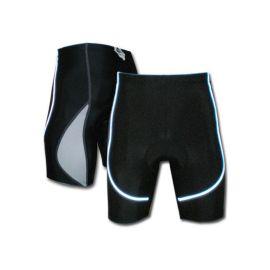 骑行裤反光条骑行短裤