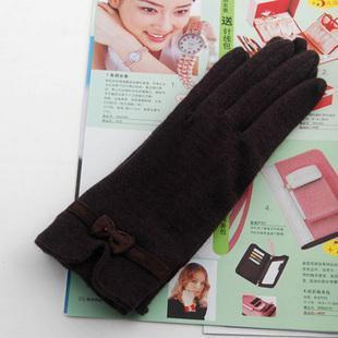 时尚羊绒手套-6