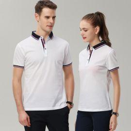 团体广告衫夏季POLO衫短袖T恤女工装印logo企业超市定制工作服