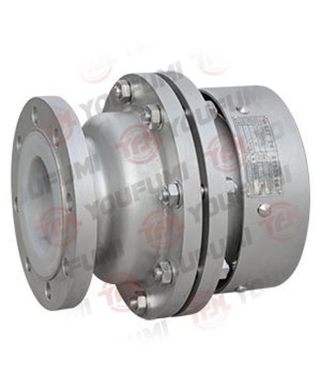 襯氟真空負壓安全閥 YFA72F46 襯氟閥門 耐腐蝕閥門 襯四氟閥門