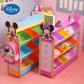玩具收纳架,幼儿园玩具柜实木玩具架,儿童书架超大