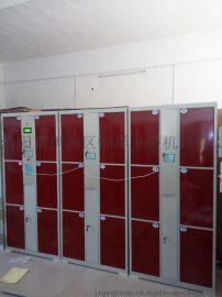 6门12门24门职工更衣柜批发 喷塑条码更衣柜选配多种锁具