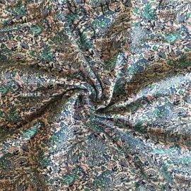 **丝光T恤针织面料40-100s单/双丝光棉汗布 丝光棉印花面料